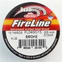 Picture of Beading Thread | FireLine - 01-Smoke Grey - 4 lb. (15 yds.)