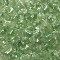 Picture of Czech Diamonduo 2-Hole Beads | DD-00030/14257  Crystal Lt. Green Luster  (5 g.)
