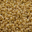 Picture of Miyuki Delica Seed Beads | 11/0 - DB-2301 (K) Frosted Opaque Glazed Parchment AB (5 g.)