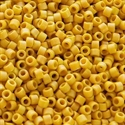 Picture of Miyuki Delica Seed Beads | 11/0 - DB-2302 (K) Frosted Opaque Glazed Maize AB (5 g.)