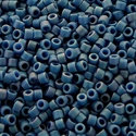Picture of Miyuki Delica Seed Beads | 11/0 - DB-2317 (K) Frosted Opaque Glazed Nebula Blue AB (5 g.)