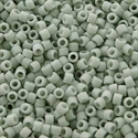 Picture of Miyuki Delica Seed Beads | 11/0 - DB-2281 (K) Frosted Opaque Glazed Lt. Grey (5 g.)