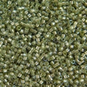 Picture of Miyuki Delica Seed Beads   11/0 - DB-2378 (A) Fancy-Lined Kale (5 g.)