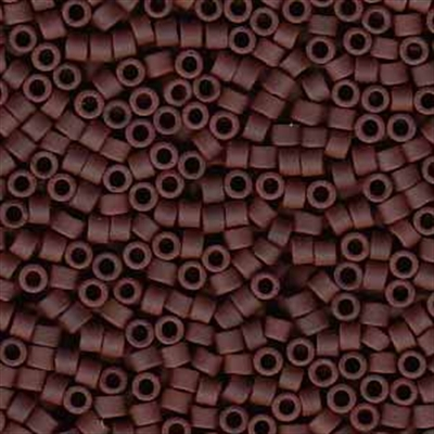 Picture of Miyuki Delica Seed Beads | 11/0 - DB-1584 (B) Matte Opaque Espresso Bean (5 g.)