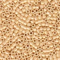 Picture of Miyuki Delica Seed Beads | 11/0 - DB-1591 (B) Matte Opaque Antique Ivory AB (5 g.)