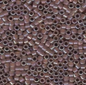 Picture of Miyuki Delica Seed Beads | 11/0 - DB-1749 (A) Cocoa Lined Opal AB (5 g.)