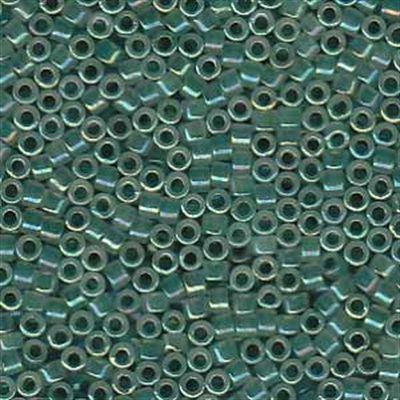 Picture of Miyuki Delica Seed Beads | 11/0 - DB-1768 (A) Spruce Green Lined Opal AB (5 g.)