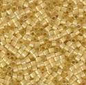 Picture of Miyuki Delica Seed Beads | 11/0 - DB-1801 (G2) Dyed Golden Yellow Silk (5 g.)