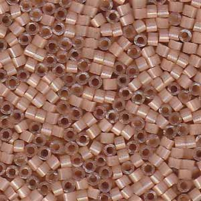 Picture of Miyuki Delica Seed Beads | 11/0 - DB-1803 (G) Dyed Peachy Tan Silk (5 g.)