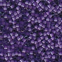 Picture of Miyuki Delica Seed Beads | 11/0 - DB-1810 (G2) Dyed Purple Silk (5 g.)