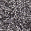 Picture of Miyuki Delica Seed Beads | 11/0 - DB-1817 (G2) Dyed Smoke Grey Silk (5 g.)