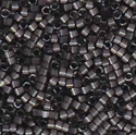 Picture of Miyuki Delica Seed Beads | 11/0 - DB-1818 (G2) Dyed Charcoal Grey Silk (5 g.)