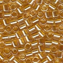 Picture of Miyuki Delica Seed Beads | 8/0 - DBL-0099 (B) Transparent Lt. Topaz Luster (5 g.)