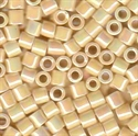 Picture of Miyuki Delica Seed Beads | 8/0 - DBL-0157 (A) Opaque Ivory AB (5 g.)