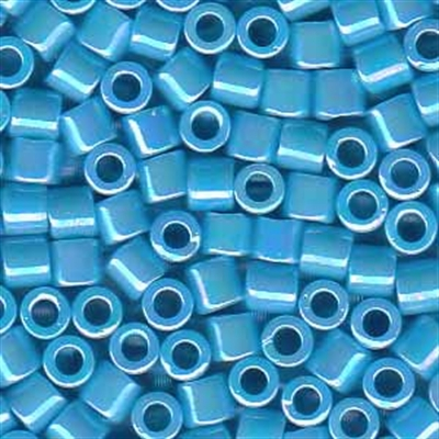 Picture of Miyuki Delica Seed Beads | 8/0 - DBL-0164 (A) Opaque Sky Blue AB (5 g.)