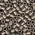 Picture of Miyuki Delica Seed Beads | 8/0 - DBL-0321 (L) Matte Metallic Nickel Plated (5 g.)