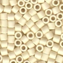Picture of Miyuki Delica Seed Beads | 8/0 - DBL-0352 (H) Matte Opaque Lt. Cream (5 g.)