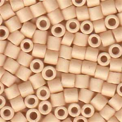 Picture of Miyuki Delica Seed Beads | 8/0 - DBL-0353 (H) Matte Opaque Lt. Beige (5 g.)