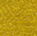 Picture of Miyuki Delica Seed Beads | 8/0 - DBL-0710 (A) Transparent Yellow (5 g.)