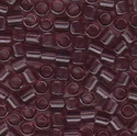 Picture of Miyuki Delica Seed Beads | 8/0 - DBL-0711 (A) Transparent Amethyst (5 g.)