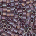 Picture of Miyuki Delica Seed Beads | 8/0 - DBL-0857 (C) Matte Transparent Amethyst AB (5 g.)