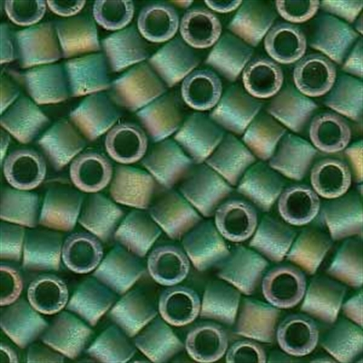 Picture of Miyuki Delica Seed Beads | 8/0 - DBL-0858 (C) Matte Transparent Green AB (5 g.)