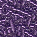 Picture of Miyuki Delica Seed Beads | 8/0 - DBL-0906 (B) Purple Lined Crystal w/Sparkle (5 g.)