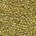 Picture of Miyuki Delica Seed Beads | 11/0 - DB-1835 (S) DURACOAT Galvanized Lemon Yellow  (5 g.)