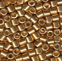 Picture of Miyuki Delica Seed Beads | 8/0 - DBL-1832 (O) DURACOAT Galvanized Bright Gold (5 g.)