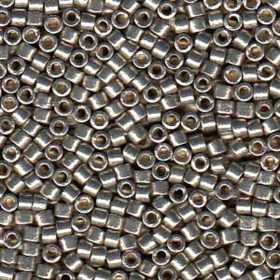 Picture of Miyuki Delica Seed Beads   11/0 - DB-1851 (S) DURACOAT Galvanized Lt. Pewter (5 g.)