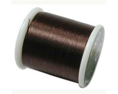 Picture of K.O. Beading Thread | #KO-06 - Brown (55 yds)