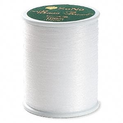 Picture of SoNo Beading Thread | #SN330-03 - White (110 yds)