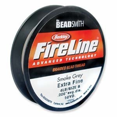 Picture of Beading Thread | FireLine - 01-Smoke Grey - 4 lb. (50 yds.)