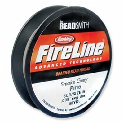 Picture of Beading Thread | FireLine - 03-Smoke Grey - 6 lb. (50 yds.)