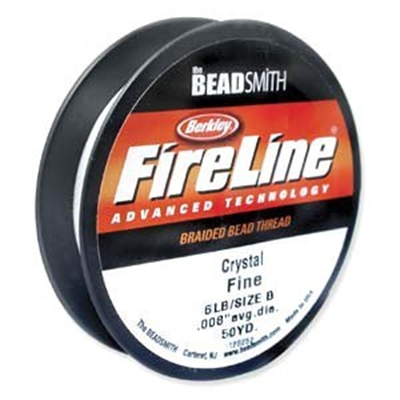 Picture of Beading Thread | FireLine - 03-Crystal Clear - 6 lb. (50 yds.)