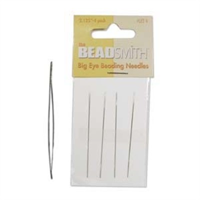 "Picture of BIG EYE Beading Needles | BeadSmith - 2.125"" Long"