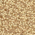 Picture of Miyuki Delica Seed Beads | 15/0 - DBS-0230 (P1) 24KT Gold Lined Opal (2.5 g.)
