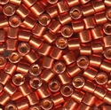 Picture of Miyuki Delica Seed Beads | 8/0 - DBL-1837 (O) DURACOAT Galvanized Persimmon (5 g.)