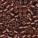 Picture of Miyuki Delica Seed Beads | 8/0 - DBL-1843 (O) DURACOAT Galvanized Cinnamon (5 g.)