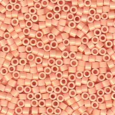 Picture of Miyuki Delica Seed Beads | 11/0 - DB-0206 (A) Opaque Peach (5 g.)