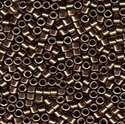 Picture of Miyuki Delica Seed Beads | 11/0 - DB-0022 (L) Metallic Bronze (5 g.)