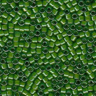 Picture of Miyuki Delica Seed Beads | 11/0 - DB-0274 (A) Chartreuse-Lined Green (5 g.)