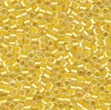 Picture of Miyuki Delica | 11/0 - DB-0053 (A) Lt. Yellow Lined Crystal AB (5 g.)