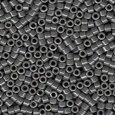 Picture of Miyuki Delica Seed Beads | 11/0 - DB-0268 (C) Opaque Slate Grey Luster (5 g.)