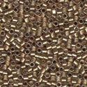 Picture of Miyuki Delica Seed Beads | 11/0 - DB-0907 (A) Taupe Lined Crystal w/Sparkle (5 g.)