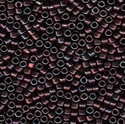 Picture of Miyuki Delica Seed Beads | 11/0 - DB-1004 (L) Blueberry Wine w/Metallic Mauve Luster AB (5 g.)