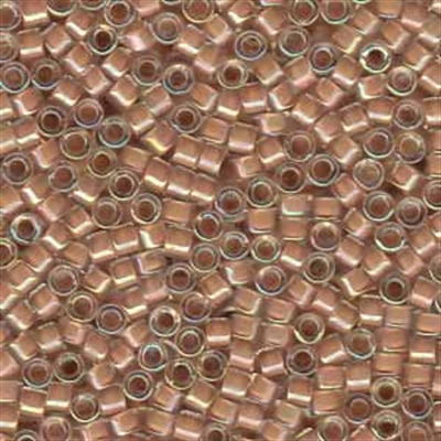 Picture of Miyuki Delica Seed Beads | 11/0 - DB-0069 (A) Beige Lined Crystal (5 g.)