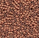 Picture of Miyuki Delica Seed Beads | 11/0 - DB-0340 (Q) Matte Copper Plated (5 g.)