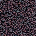 Picture of Miyuki Delica Seed Beads | 11/0 - DB-0323 (P1) Matte Metallic Copper/Wine/Purple Iris (5 g.)