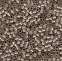 Picture of Miyuki Delica Seed Beads | 11/0 - DB-1460 (G1) Silver Lined Mocha Taupe Opal (5 g.)